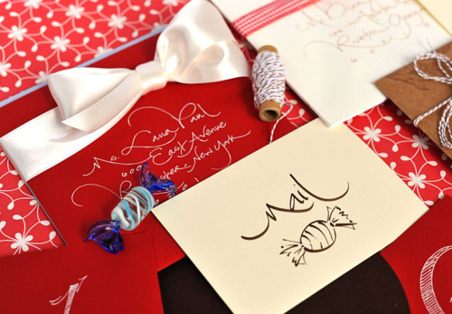 (via Pretty Mail Calligraphy - Pretty Mail Home -)