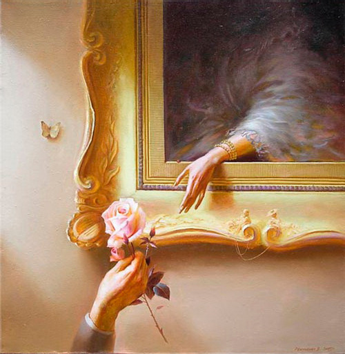 [ Роза (Rose) ] by Valentine Rekunenko.  I find this so beautiful and inspiring…!