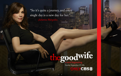 We we we so excited. We so excited. The Good Wife - Season 3 promo