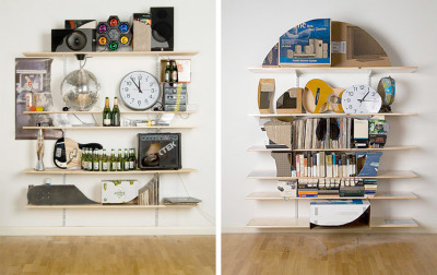 Inspired: next apartment shelf units.