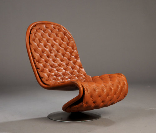 theabsolution:  1-2-3 Chairs by Verner Panton