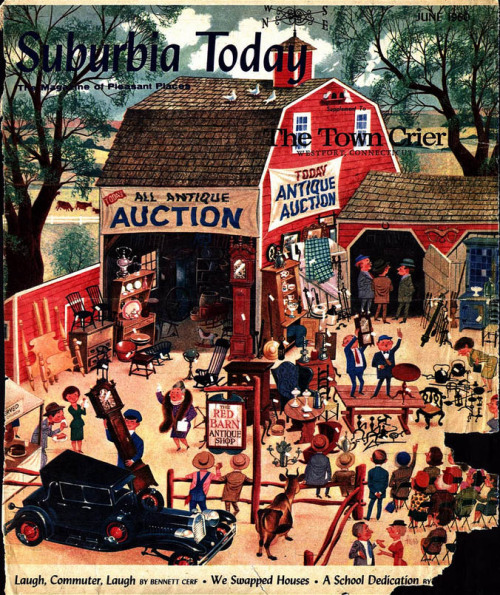Suburbia Today magazineIllustrated by Lowell Hess1950s Ohhhh my god so awesome!