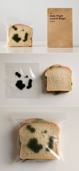 jaymug:  Anti Theft Lunch Bags