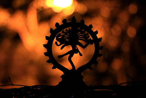 My Bohemian Aesthetic Nataraja, a depiction of the Hindu god Shiva as the cosmic dancer Koothan who performs his divine dance to destroy a weary universe and make preparations for god Brahma to start the process of creation. (source: Wikipedia)