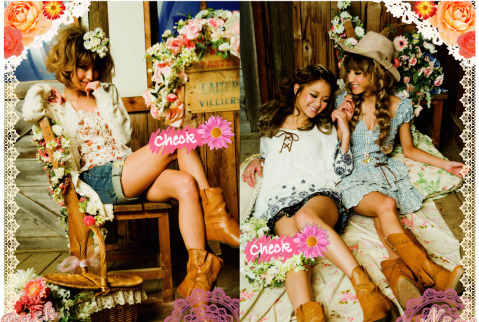 Liz Lisa <3 super pretty and cute clothes <3