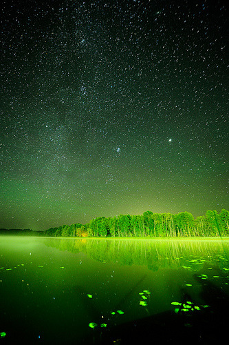llbwwb:  night sky (by Karhtur)