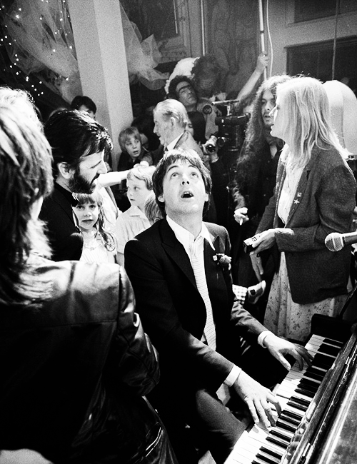 Paul McCartney photographed by Terry O'Neill