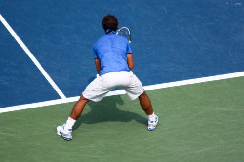 My view at Rafa vs. Nalby ;) #datass