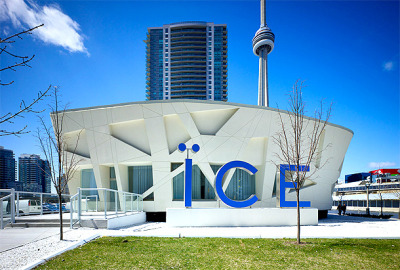 Ice condominiums sales office