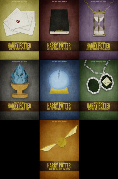 Harry Potter Films by Brock Weaver Available for purchase here
