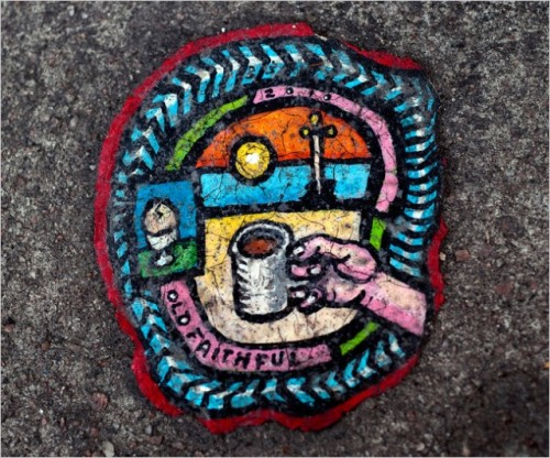 (via Artist Creates Tiny Paintings on Discarded Chewing Gum)