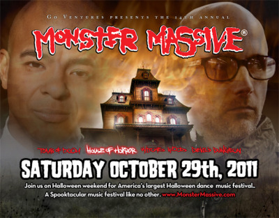 Erick Morillo & Moby confirmed for Monster Massive 2011