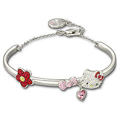 Swarovski Hello Kitty Collection: Hello Kitty Bangle / j-lu
