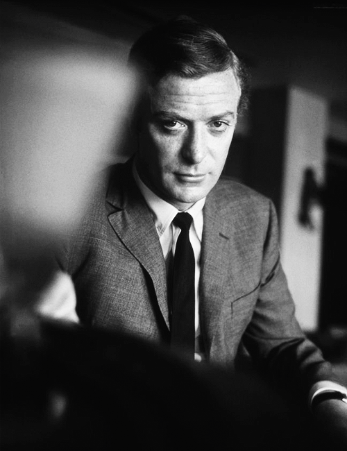 Michael Caine photographed by Terry O'Neill