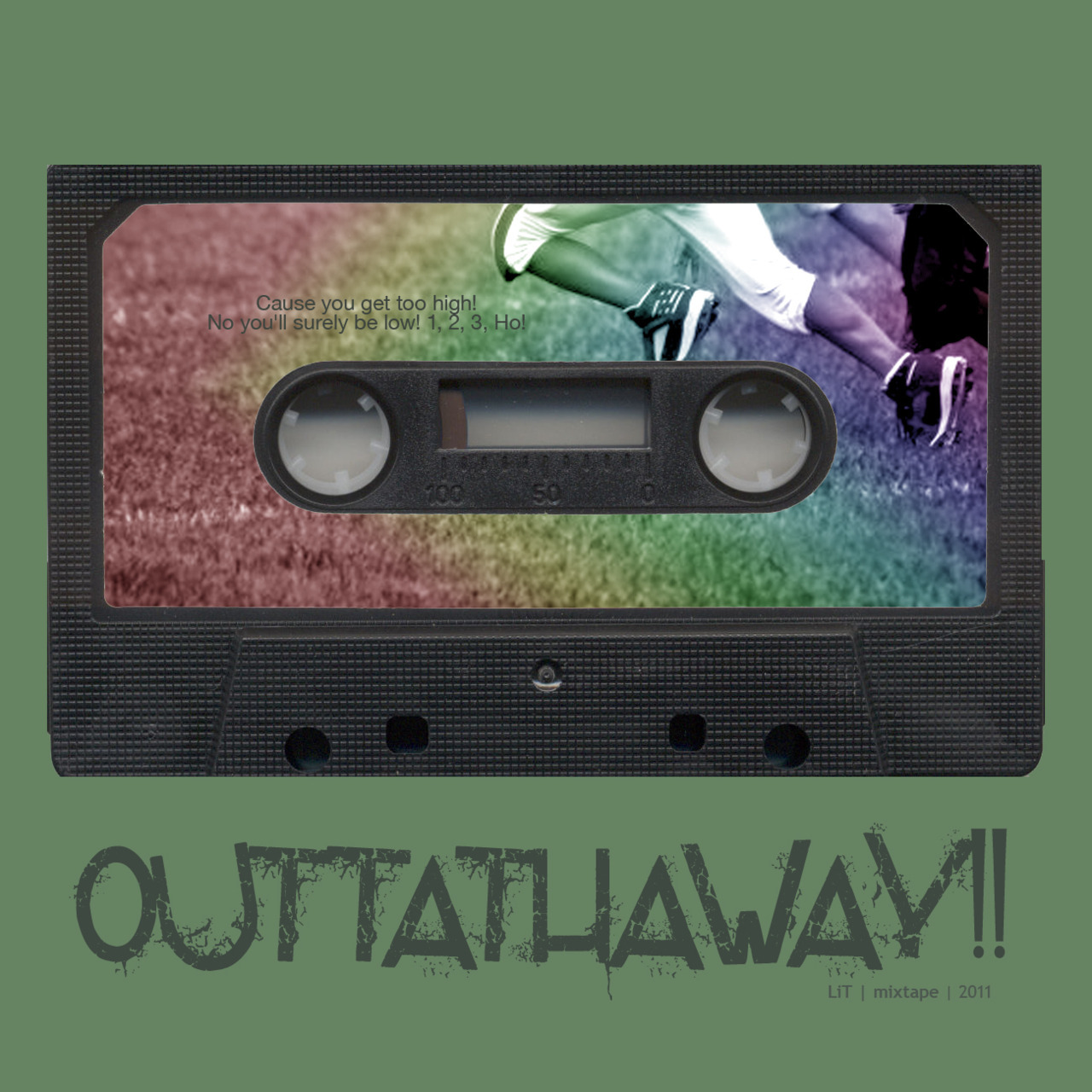 lalitia:  outtathaway : get the hell out of my friggin way[the mixtape that jogs with you]   happy listening, running shoes.stomping feet.body in motion.you. oo.oo | 133 bpm | The Vines - Outtathaway!o2.53 | 151 bpm | Pulseprogramming - First They Fireo6.o5 | 163 bpm | Theme - Hawaii Five-Oo7.53 | 169 bpm | Janelle Monae feat. Big Boi - Tightrope12.22 | 147 bpm | The Knack - My Sharona17.11 | 158 bpm | The Surfaris - Wipe Out19.45 | 161 bpm | Rolling Stones - Paint it Black23.22 | 171 bpm | Radiohead - Bodysnatchers27.2o | 133 bpm | Surfer Blood - Take it Easy [RAC Maury Mix]31.o9 | 167 bpm | The Raconteurs - Salute Your Solution34.o2 | 174 bpm | Vampire Weekend - A-Punk36.17 | 138 bpm | Devendra Banhart - Can't Help but Smiling picture inside the tape courtesy of Erniko Yamadadownload outtathaway! | 38:40