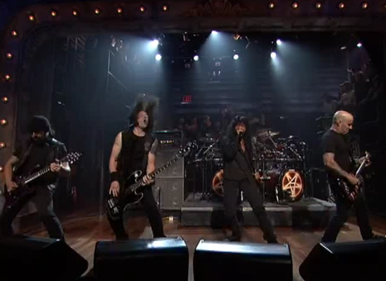 Anthrax on Jimmy Fallon!