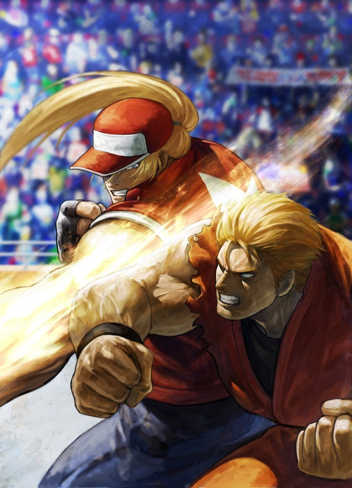 Terry Vs Ryo King of Fighters XII