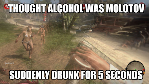 Bad time to get wasted… (Dead Island Comic)(via andy-roo on reddit)
