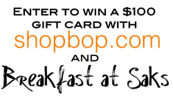breakfastatsaks:  Want to win $100? Go to my blog now!
