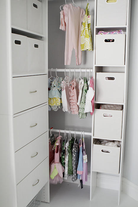 pretty baby's closet (via {johnson journal}: kate's room)