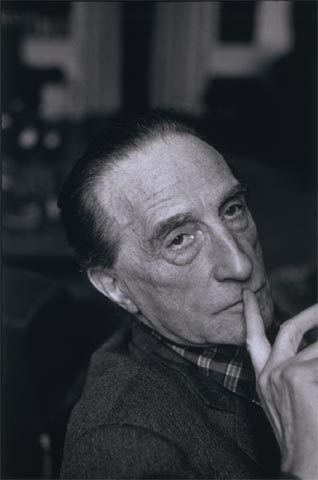 Marcel Duchamp, 1960  Photo by: Alexander Liberman