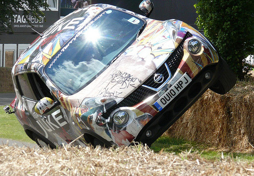3pm: Circus act Starring: Nissan Juke (by stkone)