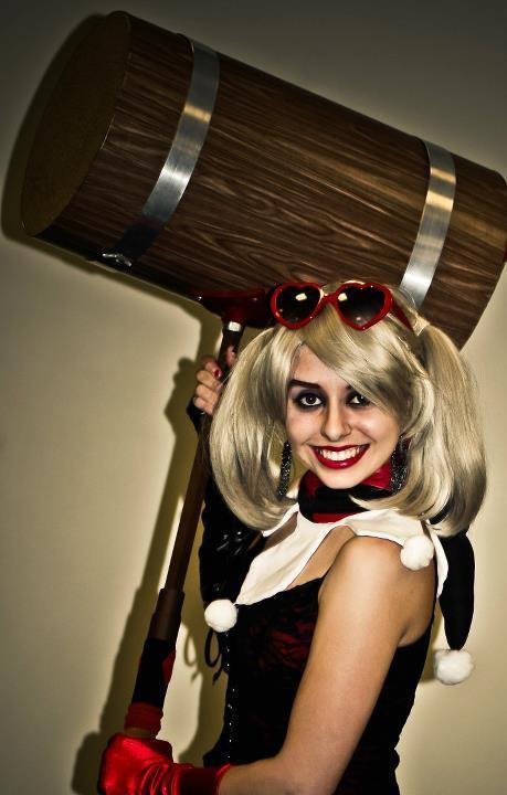 comicbookcosplay:  Chelsey Cosplay as Dr. Harleen Frances Quinzel