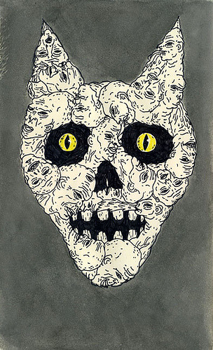 "rogerrogue:  ""Yellow Eyes"" by Jon MacNair"