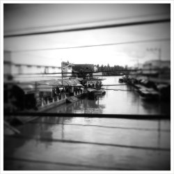 (Taken with picplz at ตลาดน้ำอัมพวา | Amphawa Floating Market.)
