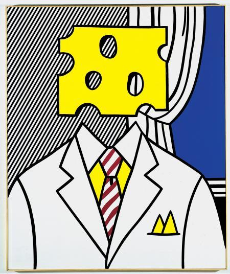 Roy Lichtenstein,  Portrait  1977