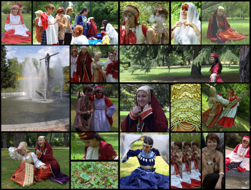 shot of Russian folk costumes2 by ~rikainverse