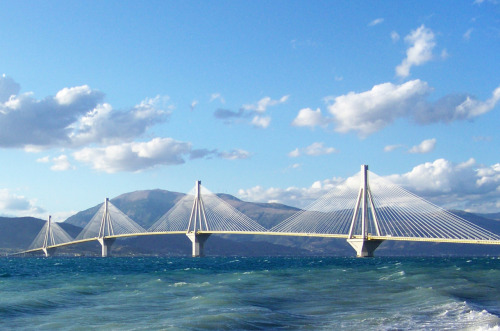 Rio-Antirrio Bridge Patras, Greece
