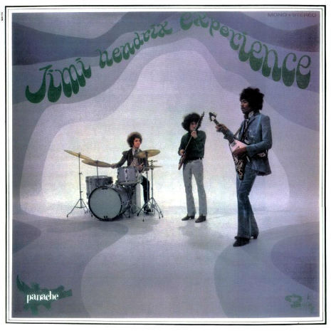 Jimi Hendrix Experience on French Pop Music TV Show