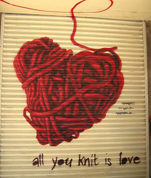 summerglassheart:  love knit by knitboy1 on Flickr.