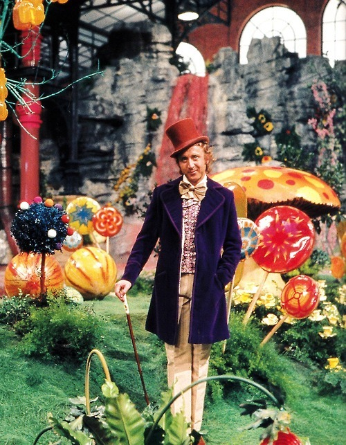 spaceghostzombie:  Willy Wonka, Willy Wonka, the amazing chocolatier … :'-)