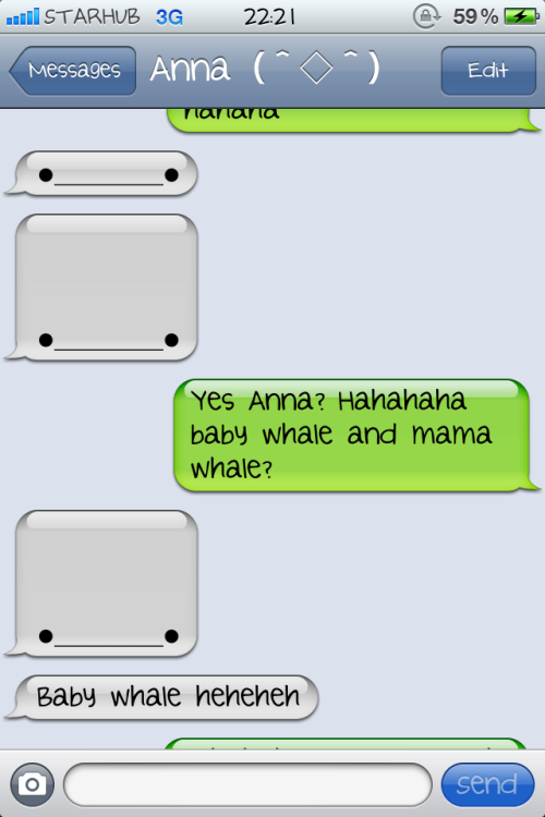 siminnn:  This whale is everywhere! Haha idgi… It's cute though :D  baby whale hehehehehheh