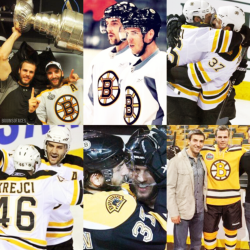 it's almost october: bergy/krejci love, in a photo montage