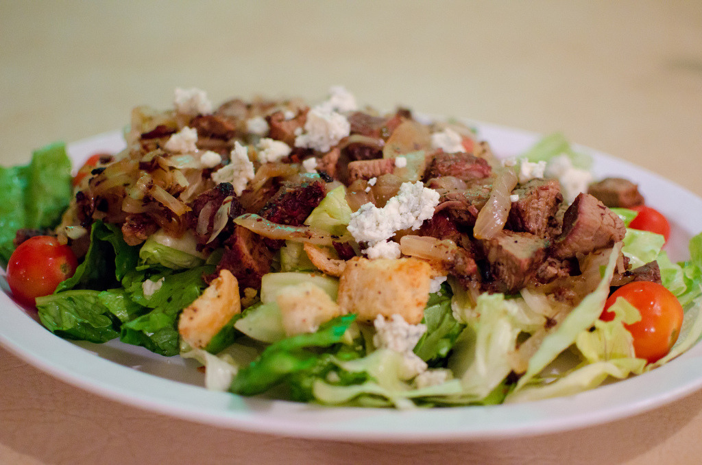 Tri tip steak salad