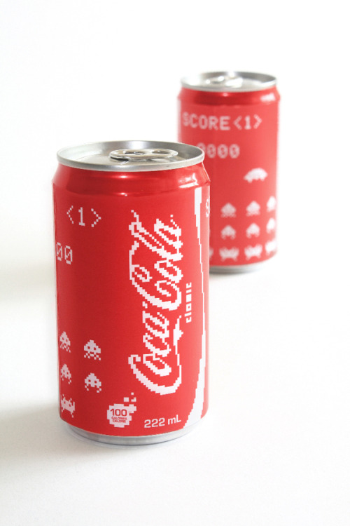 oliphillips:  Coca-Cola Pixel Edition by Erin McGuire