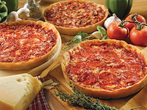 We dream of pizza…. deep dish to be exact.  You?