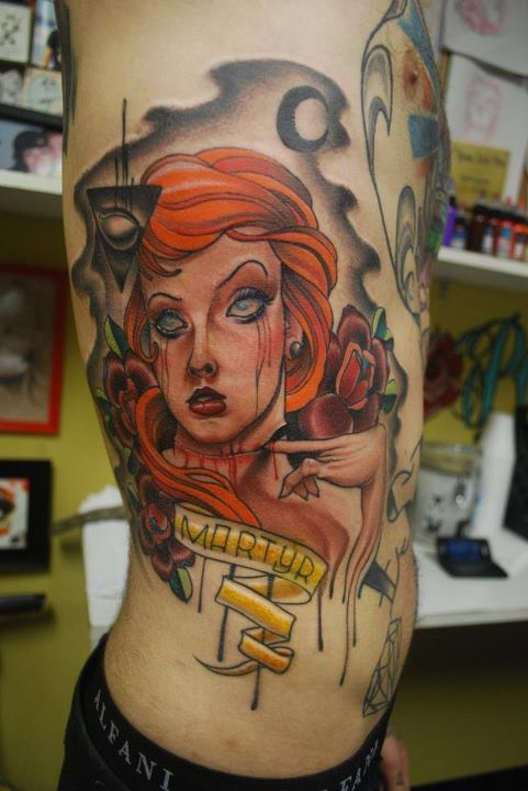 Paul Marino Raw Power Tattoo in Feasterville, PA facebook.com/paulmarinotattoo
