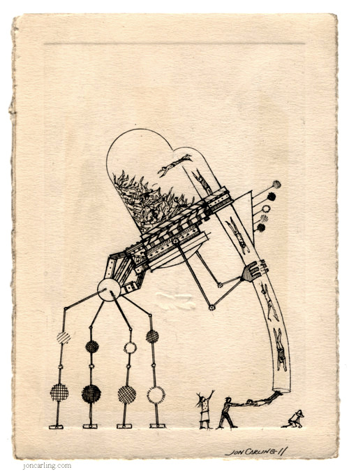 joncarling:  'Indefinite Detention Drone' - Jon Carling 2011