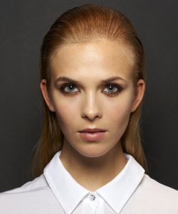 milkstudios:  Beauty Bar Interactive: Cushnie et Ochs First up, we have Viktoria @ Supreme. Click on through to Milk Made to scroll through the incredible transformations. Photo By: Greg Kessler