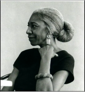 A thought on Edna Lewis I was looking at the picture of her that I use as this project's muse  and it struck me how beautiful she was, how soulful and all knowing she  seems to have been. So often as women in this industry we feel the need  to deny our femininity to be taken seriously, don the whites and play  like the boys, but it occurs to me that we miss something. I'm not  saying women should sex up the uniform or start piling on makeup in the  kitchen (femininity is much more than aesthetic anyway), I'm just saying  that when I see her picture I'm immediately reminded of womanhood in  this work and how it doesn't have to be lost or considered a liability,  but more how it can strengthen of our points of reference.