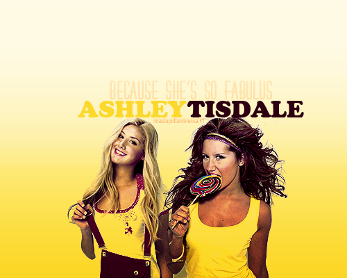 I'm gonna be bad, Emma Watson or Ashley Tisdale? xx -> asked by bitemynails