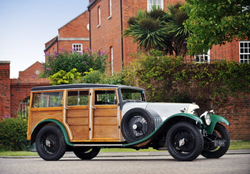 coolerthanbefore:  1925 Bentley 3-Litre Shooting Brake.
