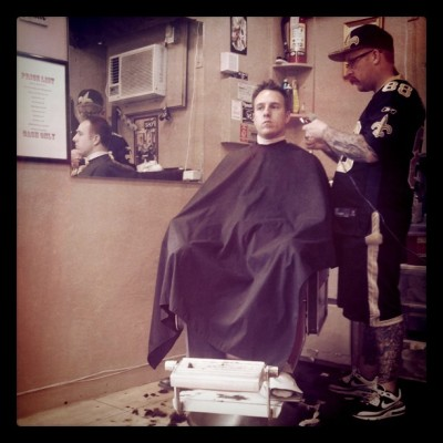 Long overdue (Taken with Instagram at Liberty Barber Shop)