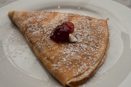 Ricotta & Strawberry Jam Crepe $7.50 Crespella321 7th AvenueBrooklyn, NY 7/10