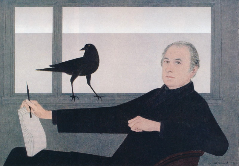 "Will Barnet, Self-Portrait, 1981 ""You have to believe in what you're doing. In the long run, you have to feel that what you're doing, regardless of the trends, will have a lasting quality.""      Will Barnet http://www.willbarnetart.com/"