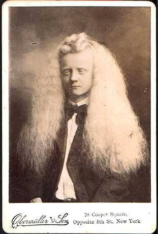 long white hair appreciation blackandwtf:  Date unknown Albino boy.